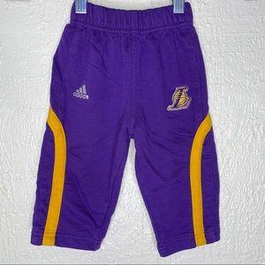 Adidas L.A. Lakers Boys Sweatpants